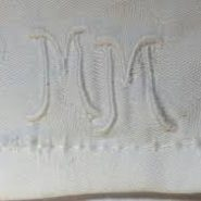 How to Make A Monogrammed Baby Blanket