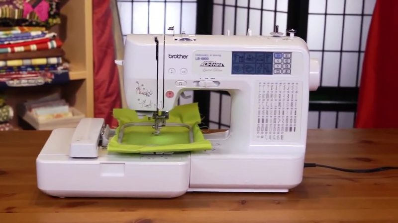 Brother LB-6800 Computerized Sewing Embroidery Machine review